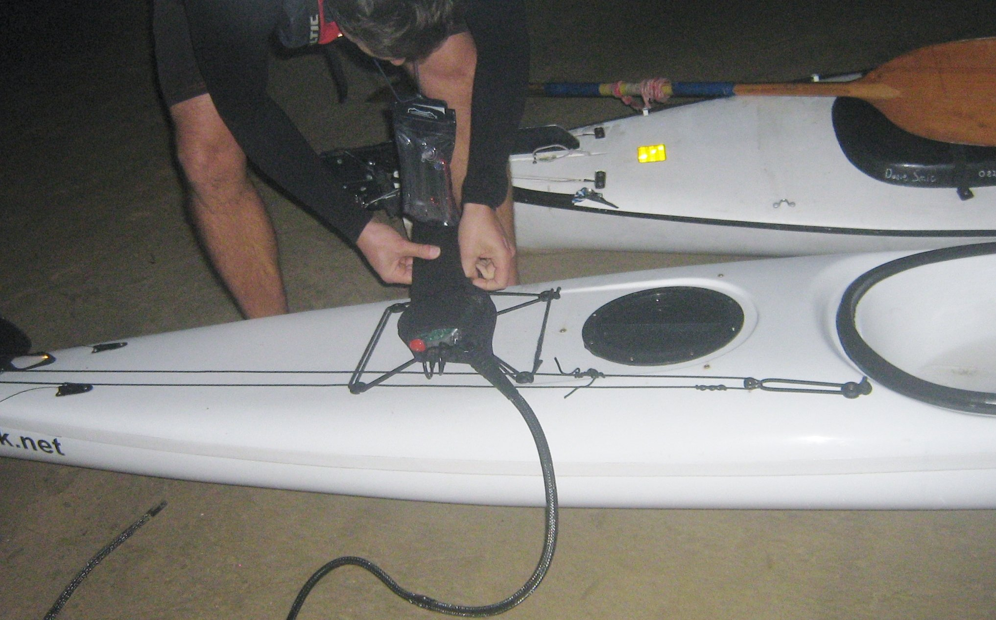 Installation of Freedom 7_Kayak 7